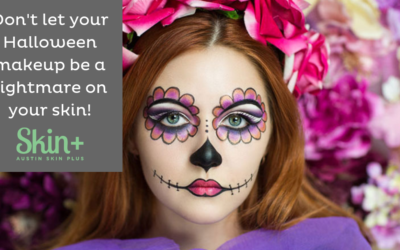 Halloween Makeup Can Be Scary!