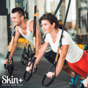 Prep your skin for workouts