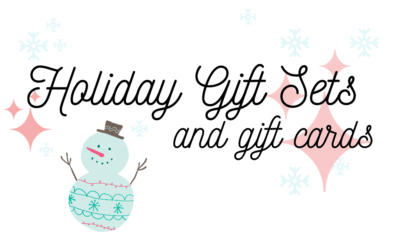 Our Holiday Gift Sets and Gift Cards