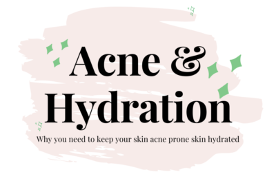 The Importance of Keeping Your Acne-Prone Skin Hydrated.